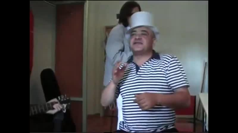 Спартак Арутюнян гр Беломорканала под гитару Санкт Петербург 31 08 20
