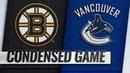 10/20/18 Condensed Game: Bruins @ Canucks
