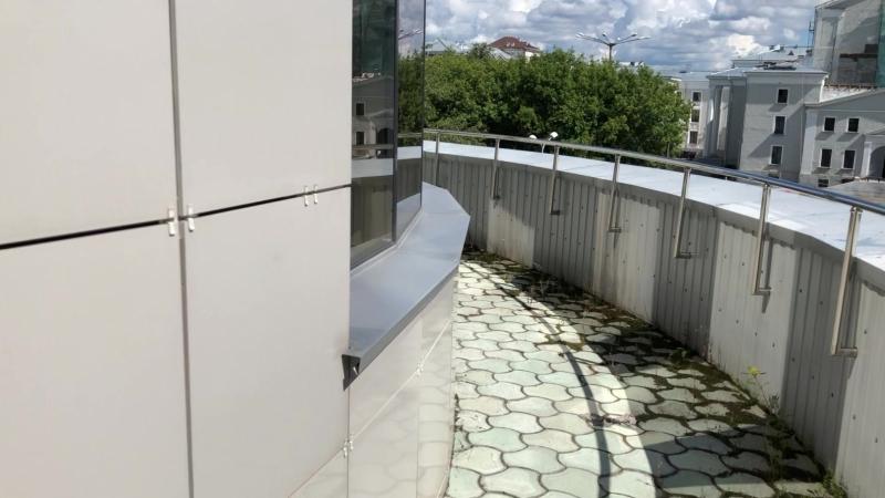 БЦ Грин Плаза обзор 3 этажа