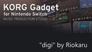 DrumnBass digi by Riokaru - Korg Gadget for Nintendo Switch