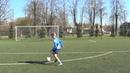 Individual football training Coordination Agility Speed Balance Midfielder drills HD