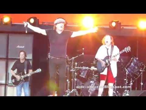 AC/DC HIGH VOLTAGE Zurich 5 June 2015 - Letzigrund Stadium