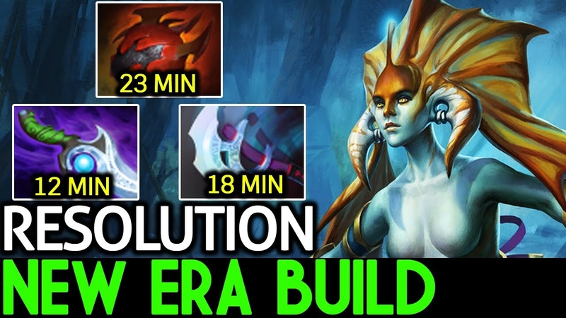 Resolution [Naga Siren] New Era Build 7.17 Dota 2