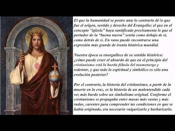 Jesús según Nietzsche (El Anticristo) » Freewka.com - Смотреть онлайн в хорощем качестве