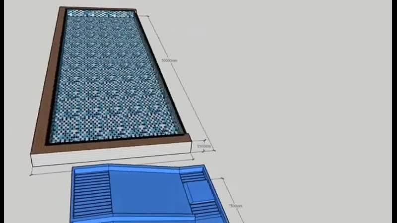 Assembling pool metal frame pool for villar family pool www.lysunny.net