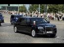 Владимир Путин прибывает в Президентский дворец в Хельсинки на встречу с Трампом
