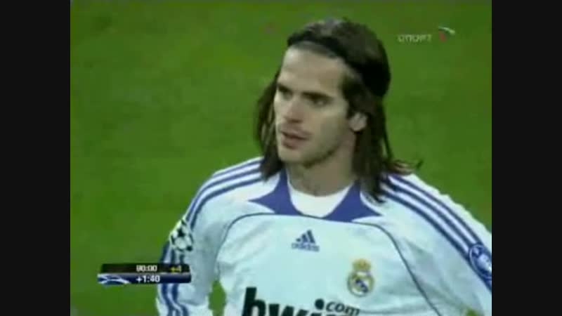 198 CL-2007/2008 Real Madrid - AS Roma 1:2 (05.03.2008) HL