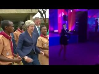 Theresa May VS Maria Zakharova