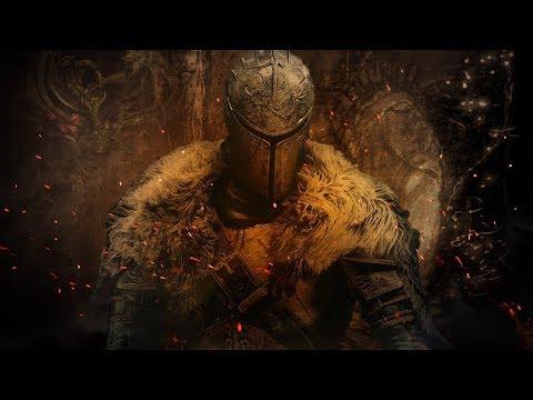 Dark Souls II Желанный трон и его охрана.