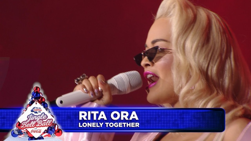 Rita Ora Lonely Together Live at Capital's Jingle Bell Ball 2018