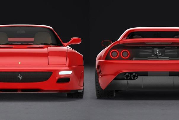 Компания Evoluto готовит вторую жизнь Ferrari 348