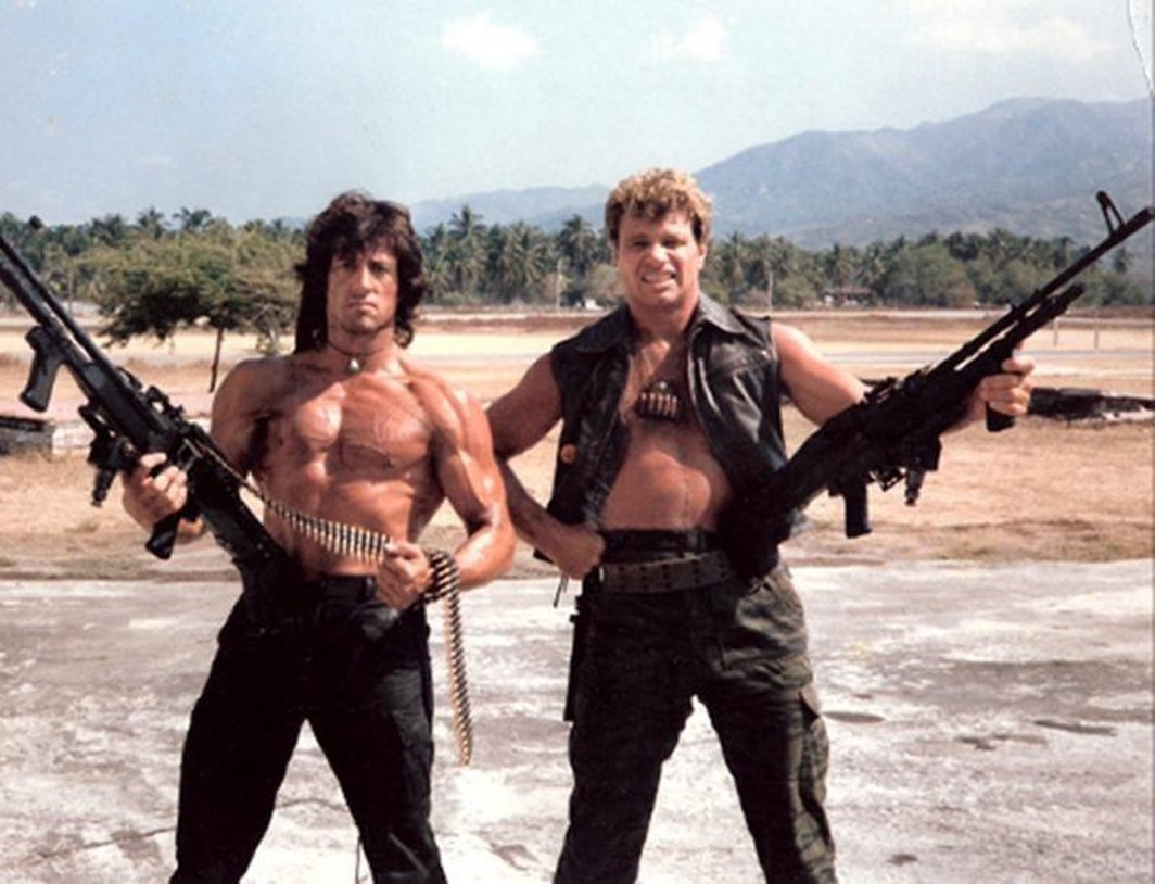 Фотографии со съёмок фильмов эпохи VHS