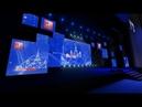 3D визуализация сцены для мероприятия День науки Москвы в Государственном Кремлёвском Дворце