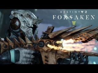 Destiny 2: Отвергнутые  новое оружие и снаряжение