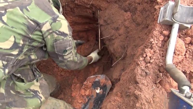 1 ЧАСТЬ Раскопки Блиндажей HD _ Excavations of dugouts