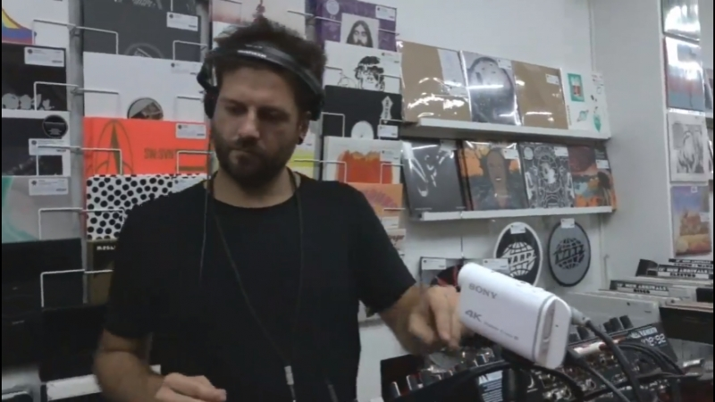 Enrico Sangiuliano - Live @ Biomorph Vinyl Launch, Milan 06.07.2018