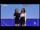 Elena Barolo - minigonna a Il Processo di Biscardi 26-02-2018