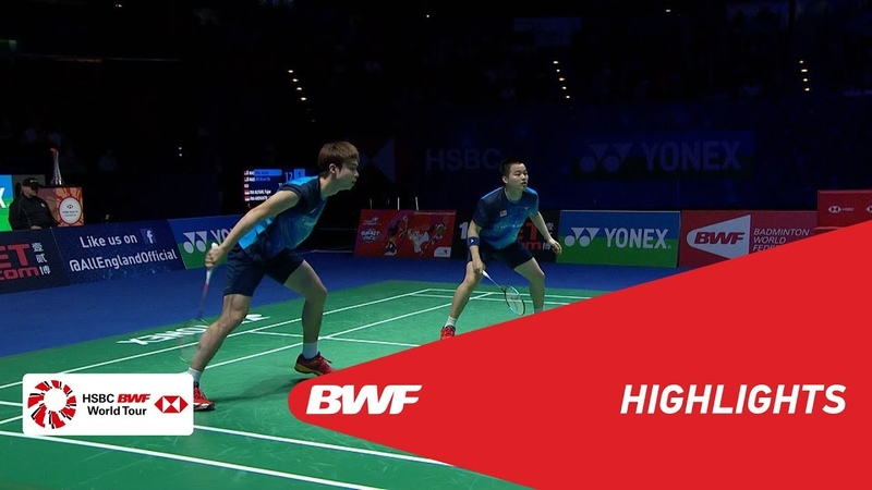 YONEX All England Open | WD Finals Highlights | BWF 2019