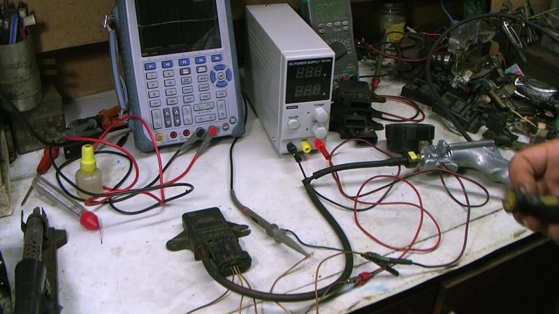Проверка MAP sensor Ford EEC IV