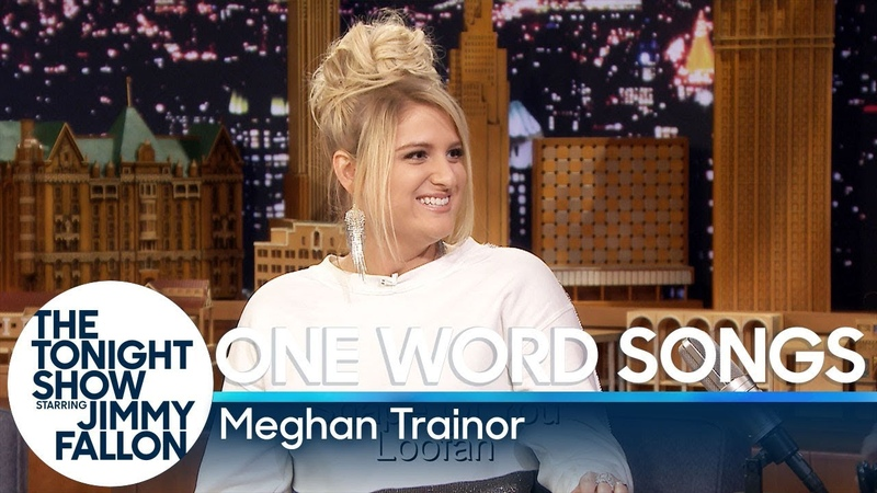One Word Songs with Meghan Trainor