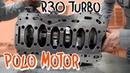 Der Motor für unseren 1 4 Meile Polo Brutus R30 Turbo Teil 1 Philipp Kaess
