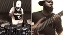 """""""You Lead"""" by Vaughn Vkeys Henry X Aaron Stix Smith - on Drums X 6 Strangs Bass Cover"""