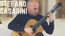 Angelo Martines plays Studio da concerto No 6 by S Casarini on a 2018 Sylvain Balestrieri guitar
