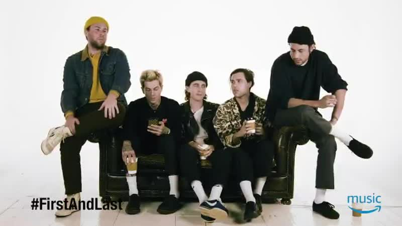 I was like, seven years old don't judge me man! - The Neighbourhood @thenbhd on the FirstAndLast albums they bought and more. To