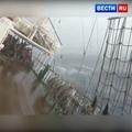 ВЕСТИ.ru РОССИЯ 24 on Instagram В Приморье пассажиры судна сняли на видео крен в 40 градусов. Люди буквально висят на леерах. #ВестиRu