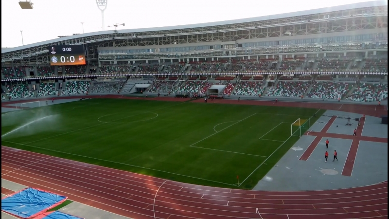 Лига Европы 18-19 Панорама минского стадиона Динамо