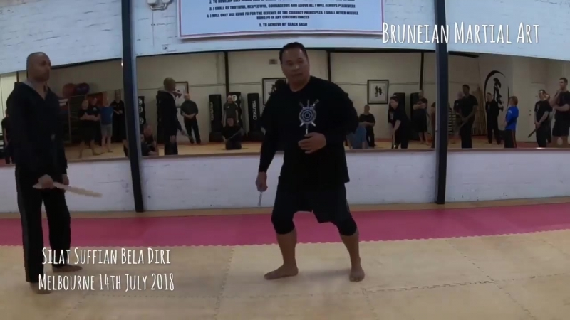 Drills, Application and Concept of movement in Bruneian Silat. (Maul Mornie)