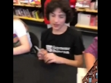 Calpurnia's autograph session at Newbury Comics, 081918