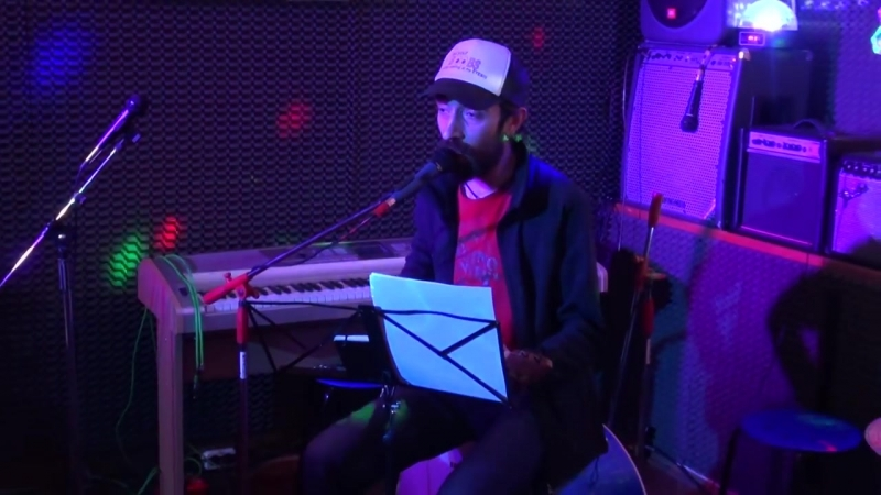 Kulesh Jam - 3 - Сергей БЛАЖЕНКОВ (вокал и инструмент сигар-бокс)