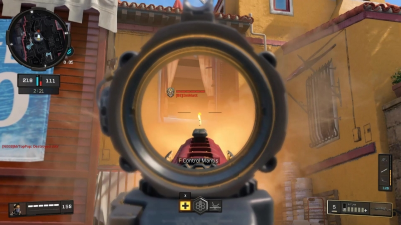 Full bolt-action semu-auto sniper rifle