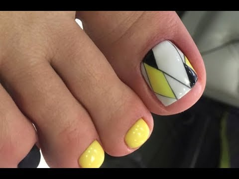 New Pedicure Nails👣🤠👡✔Top 20 The Best Nail Art Tutorial👣🤠👡✔ | Design in Beauty