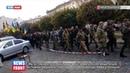 Во Львове радикалы пикетировали прокуратуру НАБУ и полицию