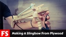 Making A Slingbow From Plywood With A Trigger (FS Woodworking)