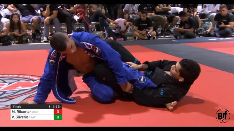 Manuel Ribamar vs Victor Silverio World Series of Grappling