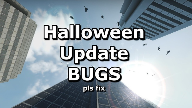 Bugs with CS:GO's Halloween Update