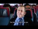 PROFESSOR HOMENAGEADO PELO PILOTO E TRIPULANTES DA TURKISH AIRLINES - LEGENDADO