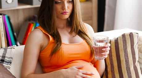 Статья Что я могу сделать с расстройством желудка во время беременности?