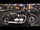 2018 Triumph Bonneville Bobber 1200 - Walkaround - 2018 Montreal Motorcycle Show