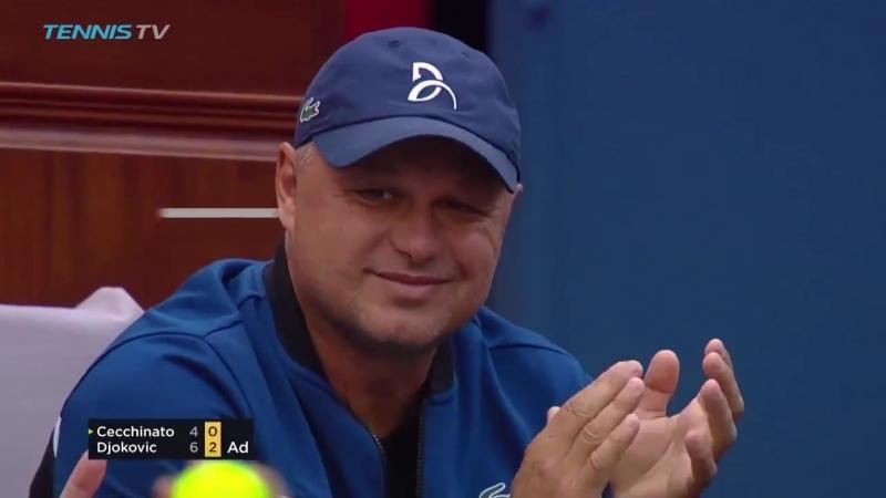 Чеккинато - Джокович Хот Шот (Betting good tennis)