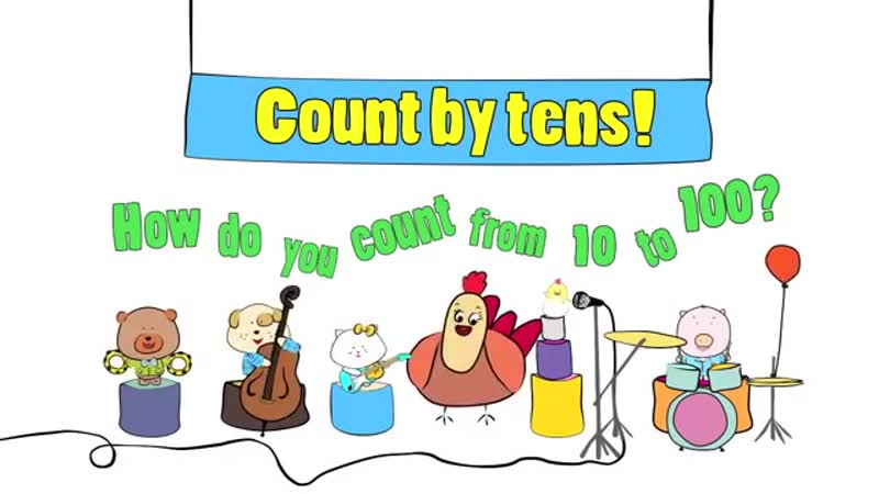 Count 10 100 Count by 10 Song The Singing Walrus
