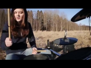 A.W. Faded Drum Cover. Кей