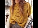 Связать Молодежный Пуловер Спицами - модели - 2109 / Knit Youth Pullover Knitting