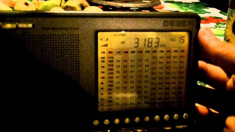 Degen 1103 Свободные радиолюбители на тройке АМ