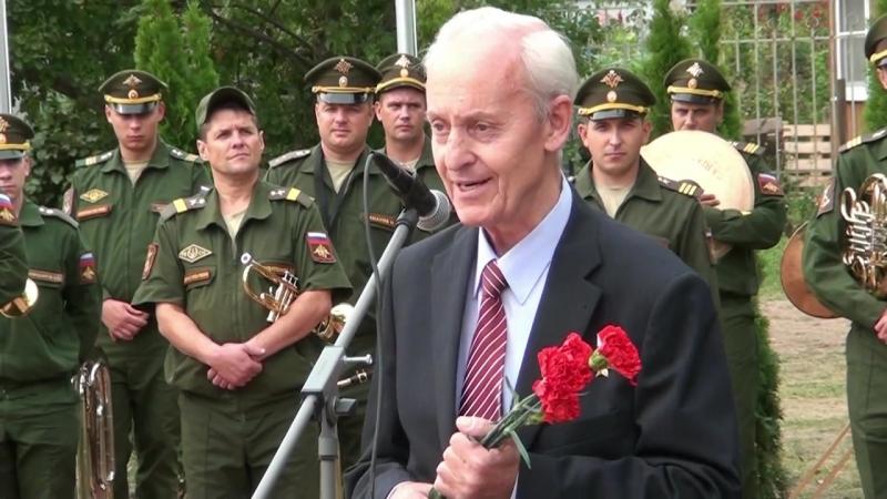 14 сентября, в честь 75-й годовщины освобождения Калужской области от немецко-фашистских захватчиков, напротив школы № 1 Козельс