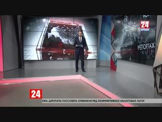 На улице Русской в Симферополе прорвало водопроводную трубу – две недели жители добирались домой вплавь