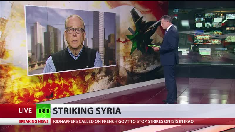 ISIS is CIA false flag op pretext for war inside Syria Iraq